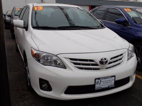 Certified Pre-Owned 2013 Toyota Corolla LE FWD LE 4dr Sedan 4A
