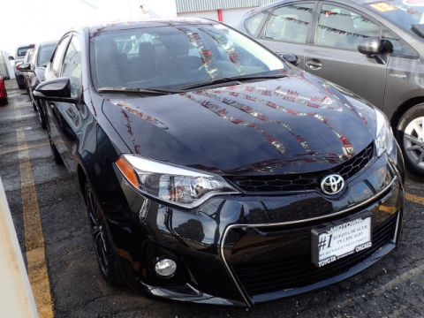 Certified Pre-Owned 2015 Toyota Corolla S FWD S Plus 4dr Sedan CVT