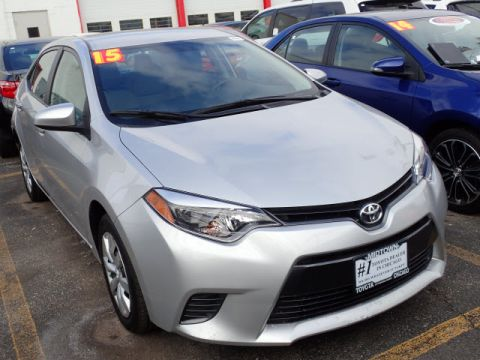 Certified Pre-Owned 2015 Toyota Corolla LE FWD LE 4dr Sedan