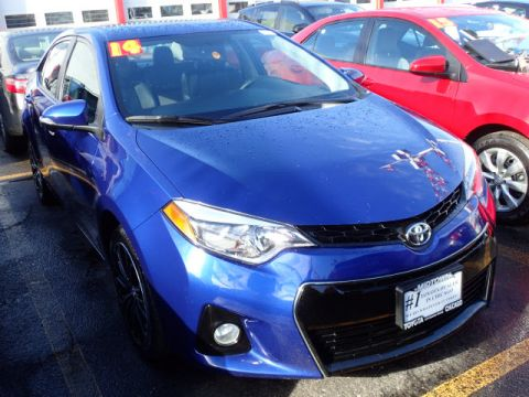 Certified Pre-Owned 2014 Toyota Corolla S FWD S Plus 4dr Sedan CVT