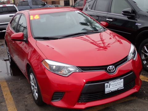 Certified Pre-Owned 2016 Toyota Corolla LE FWD LE 4dr Sedan