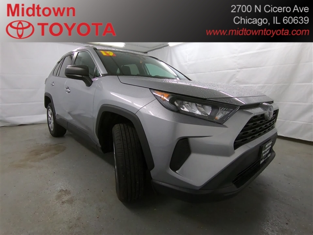 Certified Pre-Owned 2019 Toyota RAV4 LE AWD