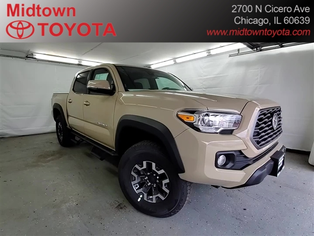 New 2020 Toyota Tacoma 4X4DLB CAB TRD OFRD