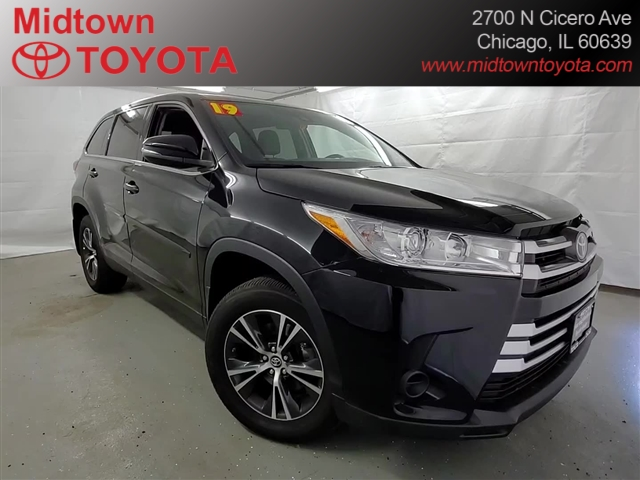 Pre-Owned 2019 Toyota Highlander LE AWD