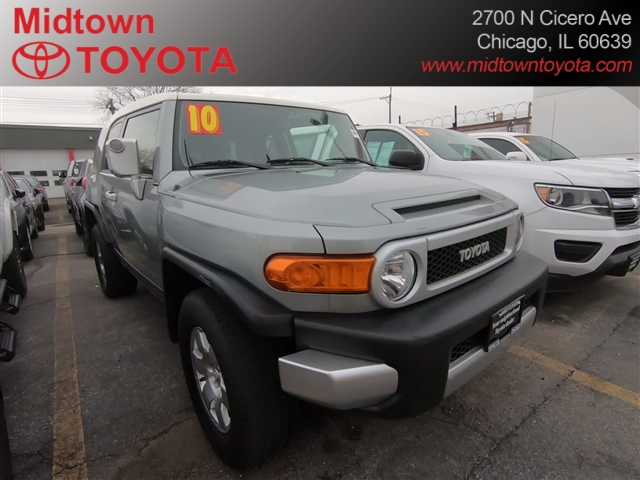 Pre-Owned 2010 Toyota FJ Cruiser 4DR 4WD AT