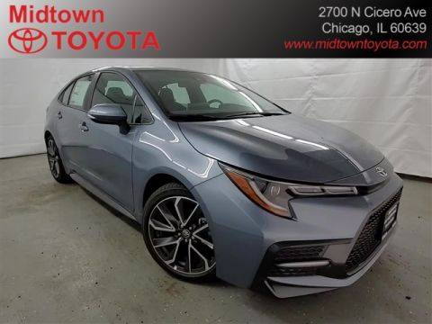 New 2020 Toyota Corolla 4DR SEDAN SE 6MT