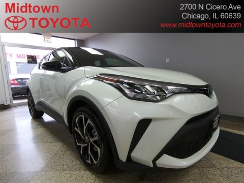 New 2020 Toyota C-HR 5DR SEDAN XLE L4 CVT